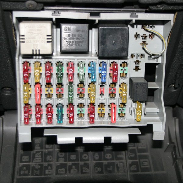 Fuse Box Vivaro : Vectra fuse box location wiring diagram images